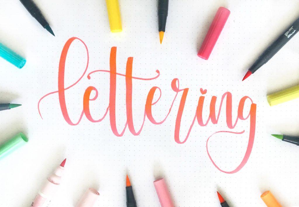 Caligrafía, lettering y tipografía