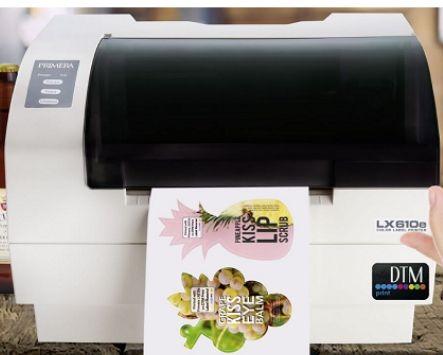 Impresora de etiquetas inkjet de escritorio con troquelado integrado