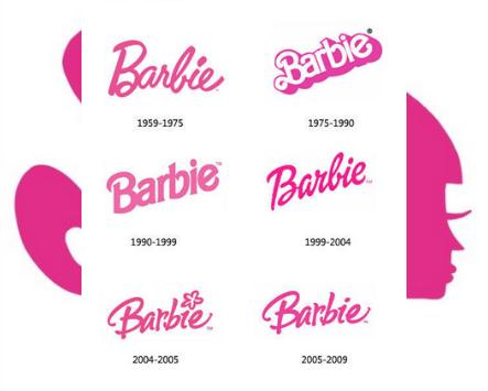 La Historia del Logo de Barbie