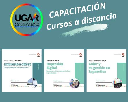 Noticias de UGAR……Capacitación a Distancia- Impresión Offset-Digital-Color