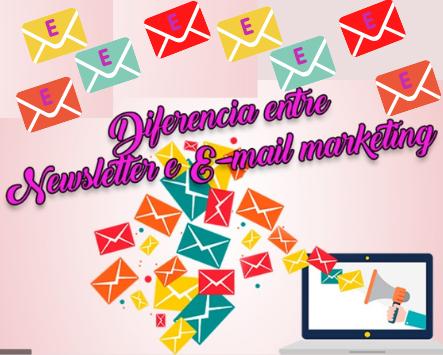 Diferencias entre Newsletter y Email Marketing