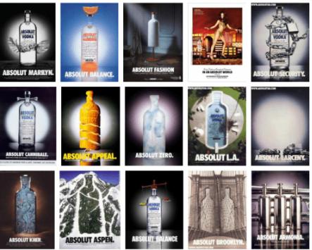 Las Mejores Campañas …....Absolut Vodka