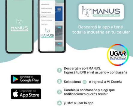 Noticias de UGAR……Descarga MANUS y conoce las novedades de la industria