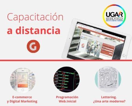 Noticias de UGAR……Capacitación a Distancia : E-commerce y Digital Marketing - Lettering