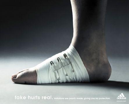 """Las Mejores Campañas …""""Fake hurts real"""" de ADIDAS -2014"""