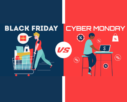 El Black Friday y el Cyber Monday ….se usan correctamente ?