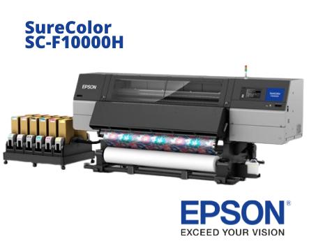 SureColor SC-F10000H, la nueva impresora textil de Epson