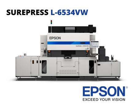 EPSON Impresora digital de etiquetas UV- SUREPRESS L-6534VW