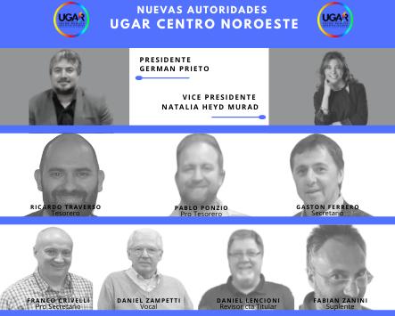 Nueva Comisión Directiva -UGAR Centro Noroeste